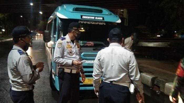 Surat Kendaraan Mati, Bus AKAP Hingga Travel 'Dikandangkan'