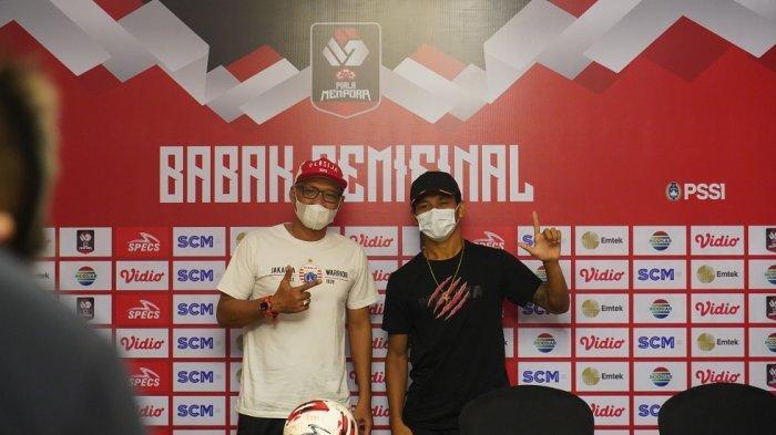 Persija Jakarta Waspadai Penjagaan Ketat Pemain PSM Makassar di Laga Semifinal Piala Menpora