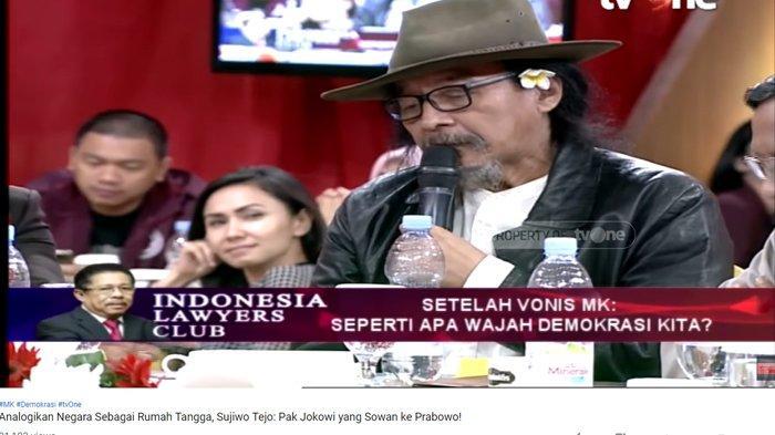 Anggap Jokowi yang Harusnya Temui Prabowo, Sudjiwo Tedjo Samakan Dengan Hubungan Suami & Istri