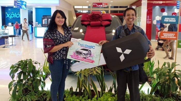 Pulang dari TangCity Mall, PengunjungIni Bawa Pulang Mitsubishi Xpander