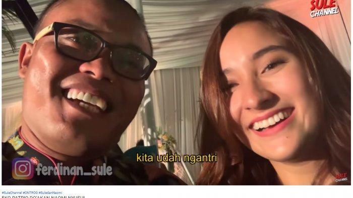 Sule dan Naomi Hadiri Pernikahan Siti Badriah, Eko Patrio: Saya Doain, Mudah-mudahan Cepet Nyusul