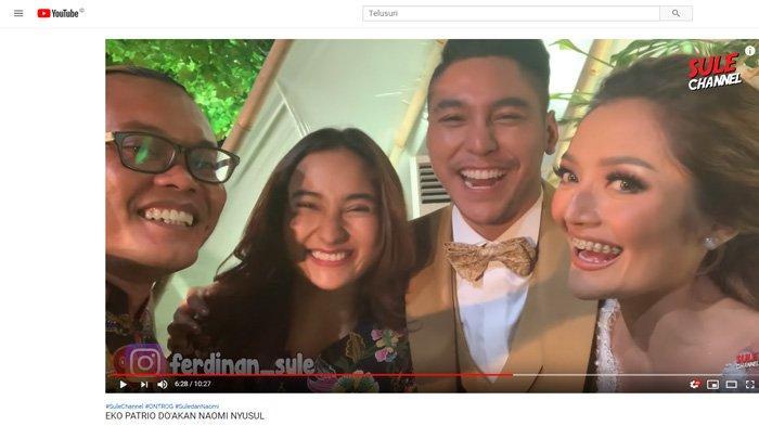 Sule dan Naomi Jadi Sorotan di Nikahan Siti Badriah, Zaskia Gotik Heboh: Tahun Depan Kayanya Nih