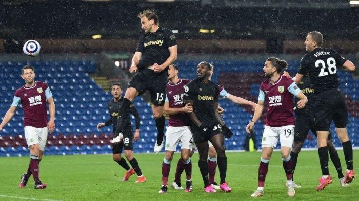 Hasil Akhir Burnley Vs West Ham 1-2, Sukses Geser Tottenham, Berikut Klasemen Sementara Liga Inggris