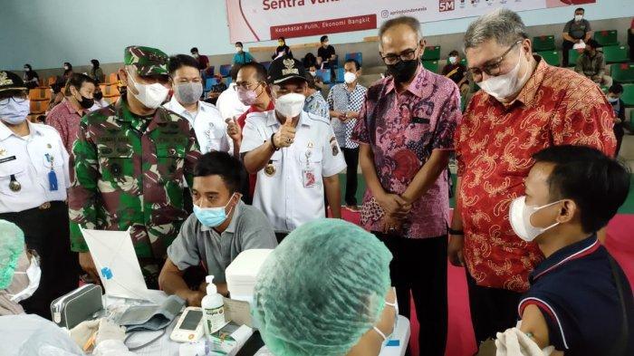 150.000 Karyawan Ritel dan Pelaku UMKM di 5 Wilayah DKI Ditargetkan Rampung Suntik Vaksin Covid-19