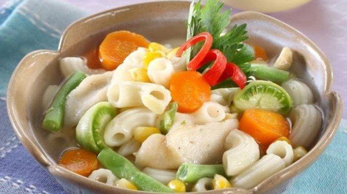 Cara Membuat Sup Makaroni, Sajian Istimewa untuk Makan Siang