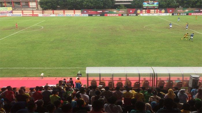 Laga Liga 1 2019 Bhayangkara FC Vs Persija Jakarta Bisa Ditonton Langsung di Stadion? Ini Jawabannya