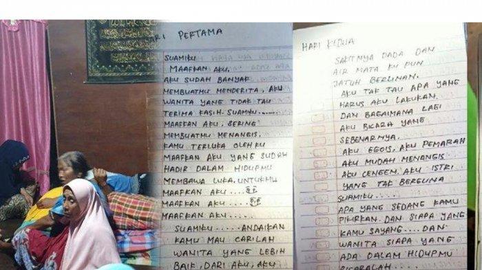 Fakta Baru Megawati Gantung Diri di Depan Bayinya, Tulis 3 Surat untuk Suami: Aku Istri Tak Berguna