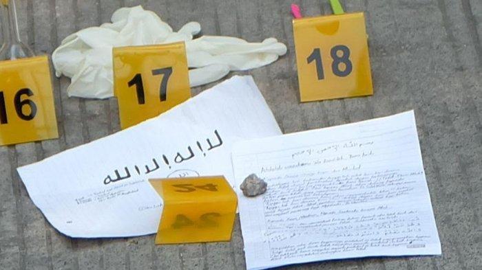 Judul Surat Pamitan yang Ditulis Terduga Teroris di Cilincing: 'Kepada Orang-orang Kafir dan Murtad'