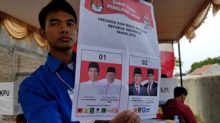 Jokowi-Maruf Unggul Versi Hasil Hitung Cepat Sementara 7 Lembaga Survei untuk Pilpres 2019