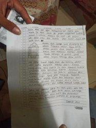 Beredar Surat Wasiat Terduga Teroris Penyerang Mabes Polri, Singgung Nama Ahok