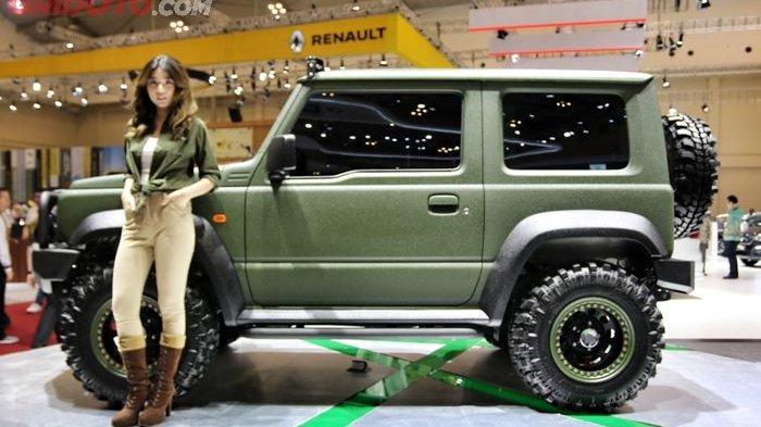 Suzuki Jimny Tough Concept Siap Melibas di Dua Alam