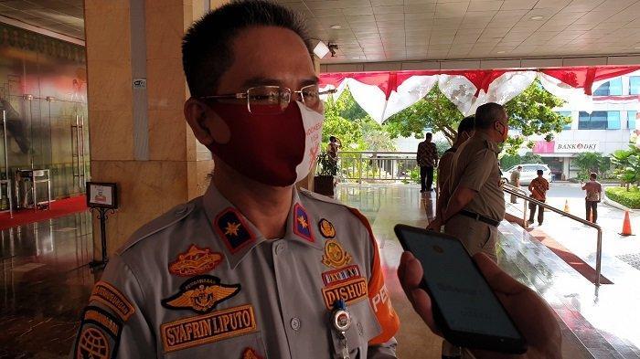 Kepala Dinas Perhubungan DKI Jakarta Syafrin Liputo saat ditemui di Balai Kota DKI, Senin (3/8/2020)