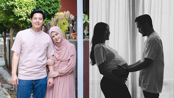 Cut Meyriska dan Roger Danuarta Gendong Si Kembar, Syahnaz Sadiqah Berseloroh: Selamat Udah Lahiran!