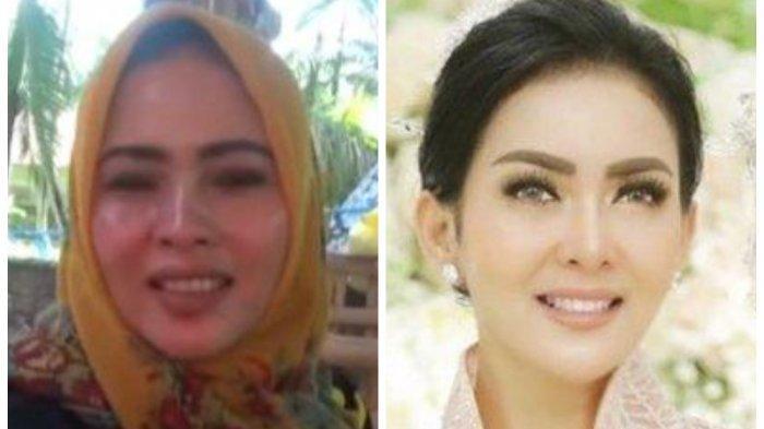 Wanita Mirip Syahrini Jual Rujak di Sumenep, Dagangannya Laris Pembeli Harus Antre