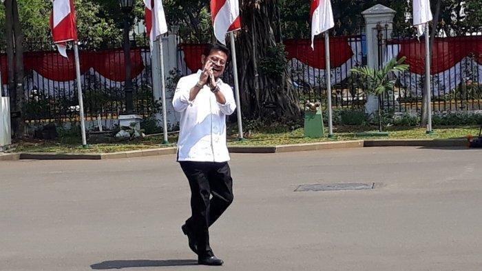 Syahrul Yasin Limpo Tiba di Istana Negara: Saya Sudah Izin Surya Paloh