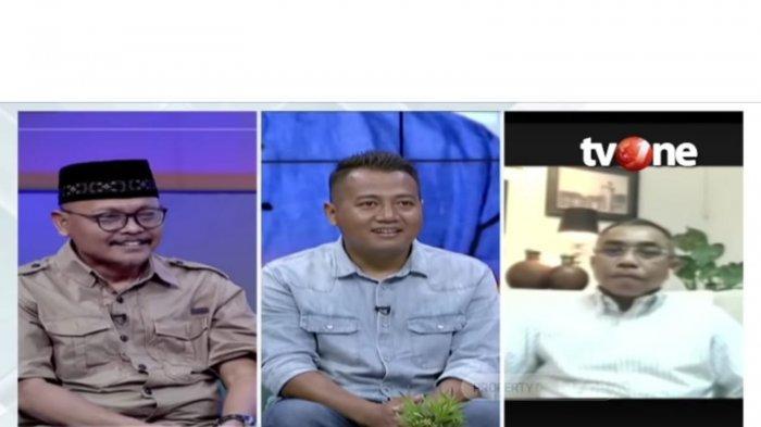 Sekretaris Komisi D DPRD DKI Jakarta Syarif, Pengamat Politik Adi Prayitno dan Ketua Fraksi PDIP Gembong Warsono.
