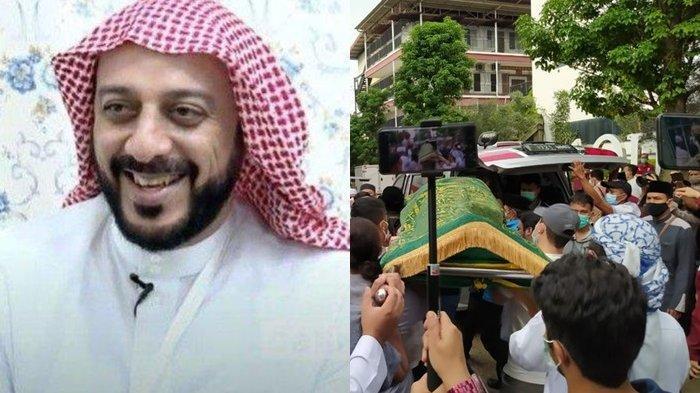 '2021 Istirahat Total' Ucapan Syekh Ali Jaber Sebelum Wafat, Adik: Seakan Sadar Sebentar Lagi Pulang