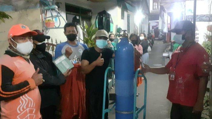 Kelurahan Ciracas Sediakan Tabung Oksigen Pinjaman Gratis Bagi Warga yang Sedang Isolasi Mandiri