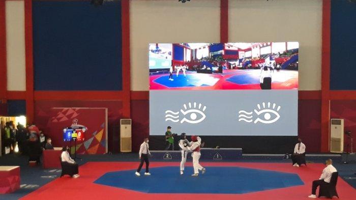 Venue Cabor Taekwondo PON Papua Kedatangan Tamu Tak Terduga, Atlet Ini Dapat Dukungan Spesial