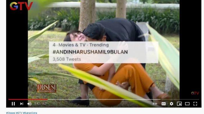 Tagar AndinHarusHamil9Bulan Trending Twitter, Pemeran Aldebaran di Ikatan Cinta Ngakak: Berarti Suka