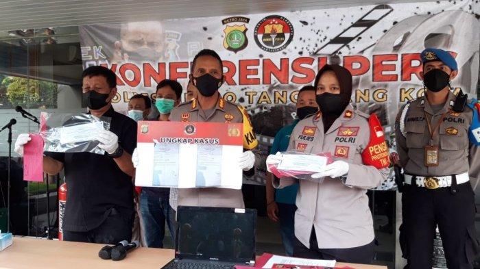 Takut Diswab, Warga Tangerang Berurusan Sama Polisi karena Palsukan Surat Antigen - Tribun Jakarta