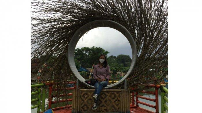 Taman Herbal Insani yang berlokasi di Jalan Kampung Kandang, Bojongsari, Depok.