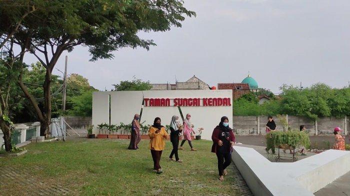 Taman Sungai Kendal, RTH Baru di Pelosok Jakarta Utara, Tawarkan Wisata Murah Tapi Asri