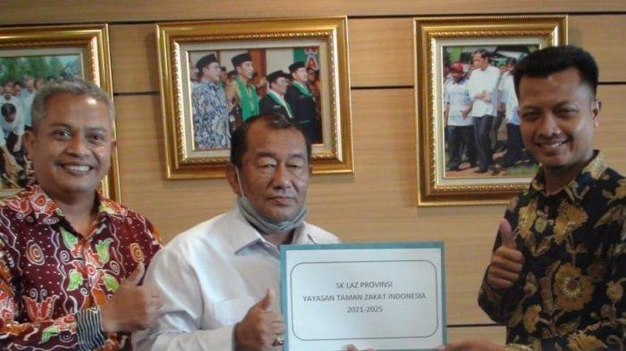 Terima SK LAZ Provinsi, Taman Zakat Siap Buka Kantor Perwakilan Permudah Donasi