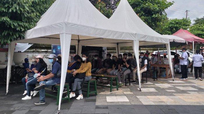 Terapkan Protokol Kesehatan Secara Ketat, Wisata Taman Sari Ramai Pengunjung di Akhir Tahun