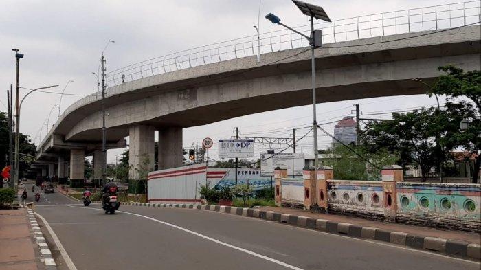 Tampak Flyover Cakung di Jakarta Timur, Sabtu (6/3/2021).