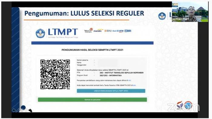 Pengumuman SBMPTN 2021 Dirilis Pukul 15.00 WIB, Ini Tandanya Jika Kamu Lolos Seleksi