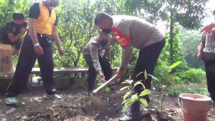 Sambut Hari Lingkungan Hidup Sedunia, Warga dan 3 Pilar Pancoran Jaksel, Tanam 1.000 Bibit Pohon