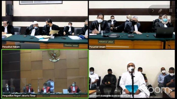 Massa Rizieq Shihab Lari Kocar-kacir di PN Jaktim, Penasihat Hukum Sempat Bentak JPU di Persidangan
