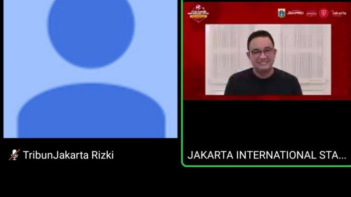 Anies Baswedan Pesan ke Persija Jakarta Agar JIS Dirawat Sesuai Standar Internasional