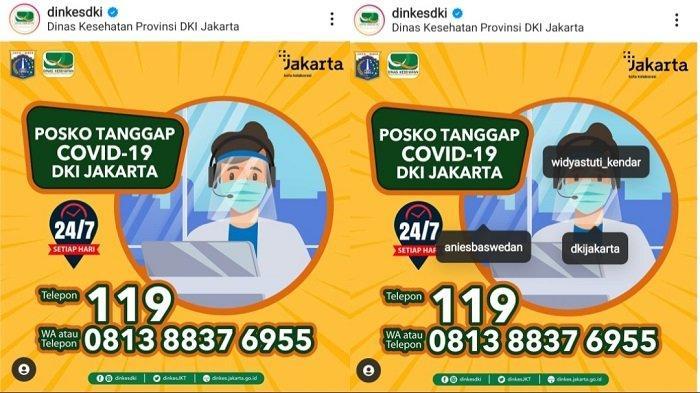 Beroperasi Setiap Hari, Berikut Kontak Posko Tanggap Covid-19 di DKI Jakarta