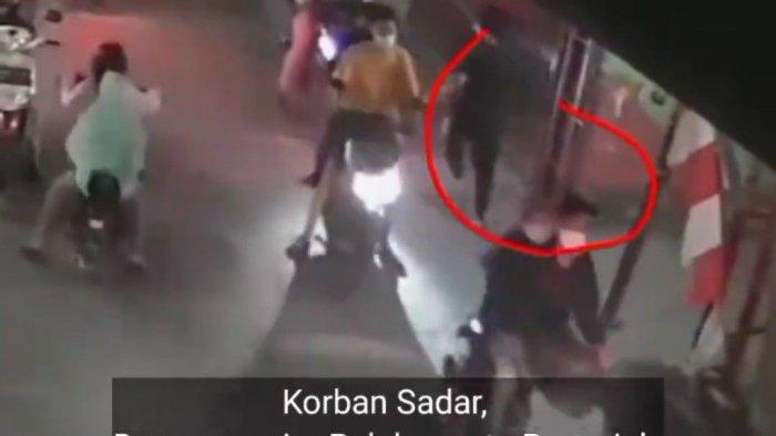 Tangkapan layar penipuan bermodus hipnotis yang terjadi di Jalan STM Walang Jaya, Koja, Jakarta Utara