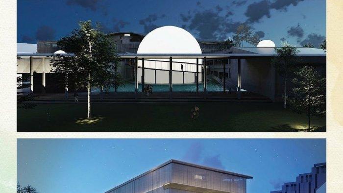 Tangkapan layar rancangan desain revitalisasi Planetarium dari akun instagram Gubernur DKI Jakarta Anies Baswedan.