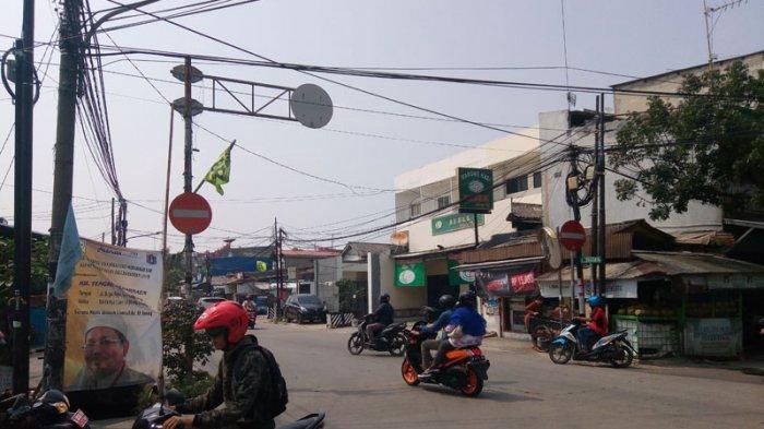 Sejumlah Pengendara Langgar Rambu Larangan Masuk di Kawasan Tanjung Priok