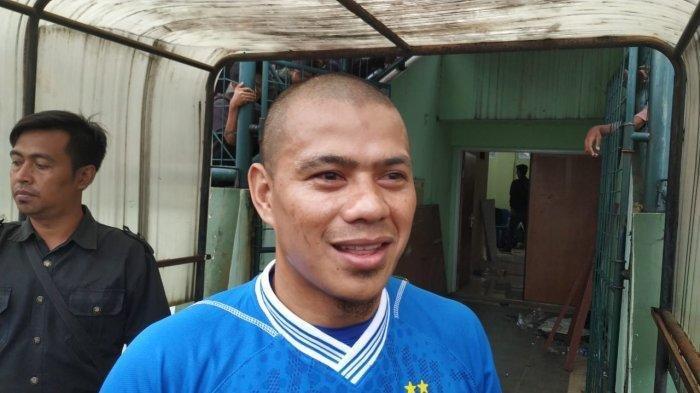 Ekspresi Tantan saat Tampil Kembali Bersama Pemain Persib Bandung dan Disaksikan Bobotoh
