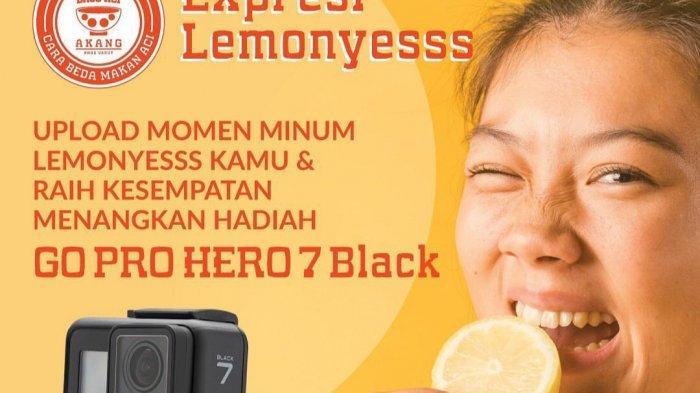 Tantangan Minum Lemon di Baso Aci Akang Berhadiah Kamera, Ini Syaratnya