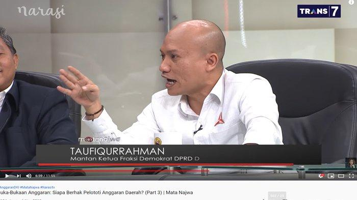 Anggap William PSI Beri Informasi Sesat Soal Anggaran, Taufiqurrahman Pertanyakan Ini: Saya Curiga