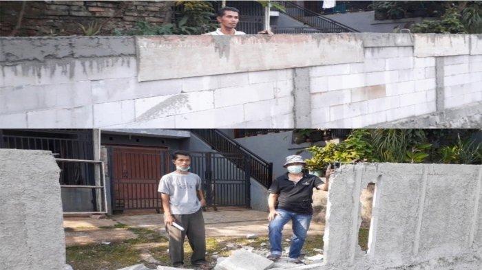 Cerita Tembok Pengembang Halangi Rumah Warga di Ciputat, Persoalan IMB Terungkap Berujung Dibongkar
