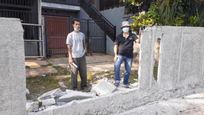 Tembok yang Halangi Rumah di Ciputat Akhirnya Dibongkar, Warga Merasa Lega