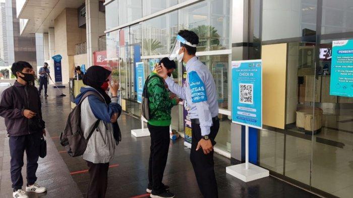 PSBB ke-8, Mal di Kota Tangerang Masih Perketat Protokol Kesehatan