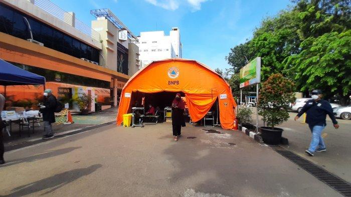 Pasien Mulai Berkurang, Tenda Darurat RSUD Kota Bekasi Mulai Dikosongkan