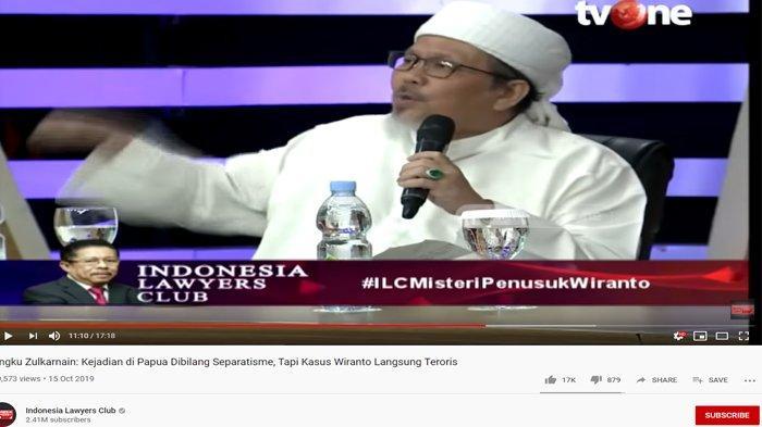Bandingkan Sikap BIN ke Abu Rara & Neno Warisman, Tengku Zulkarnain Pukul Meja: Kita Maunya Sama!