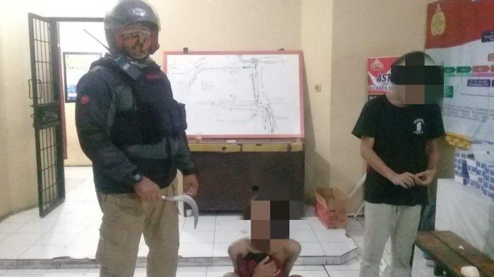 Cinta Segitiga, Dua Remaja di Depok Saling Serang Pakai Senjata Tajam