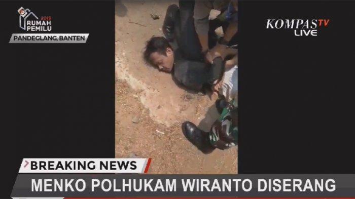 Polisi Amankan 2 Terduga Pelaku Penyerangan Wiranto, Diduga Terpapar Paham Radikal