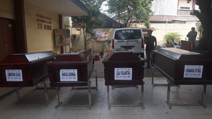 Teridentifikasi, Rumah Sakit Polri Serahkan 4 Jenazah Korban Kecelakaan Tol Cipularang