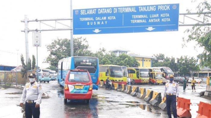 Libur Lebaran, Terminal Bus Tanjung Priok Hanya Layani Transportasi Dalam Kota dan Jabodetabek